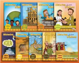 Historias y lecciones bíblicas: Libros uno al nueve-0